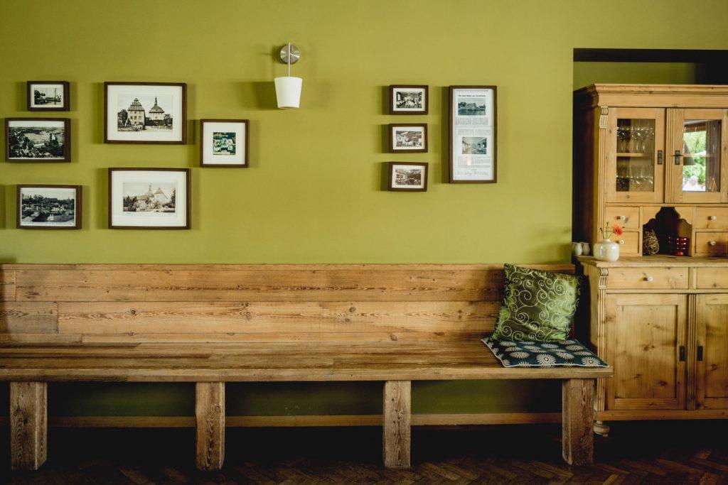 Wohnzimmer-Sitzbank