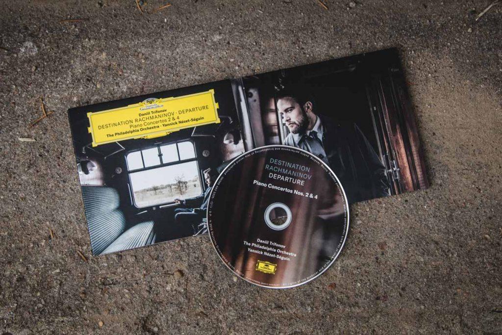 CDs Rachmaninov Departure mit Daniil Trifonov