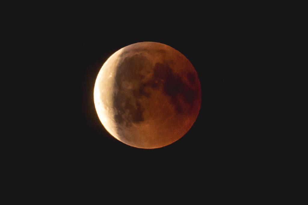 Blutmond Mondfinsternis 2018