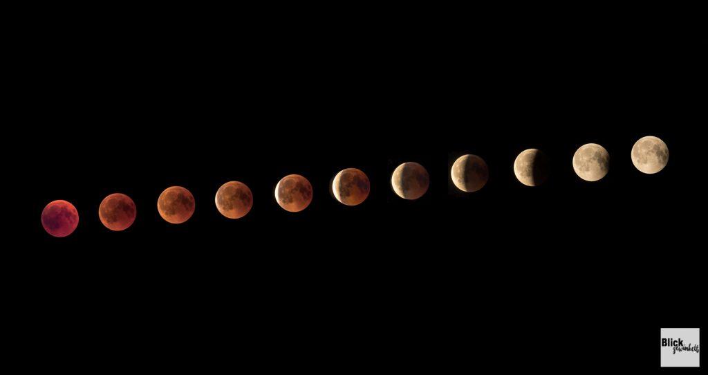 Mondreihe-Blutmond
