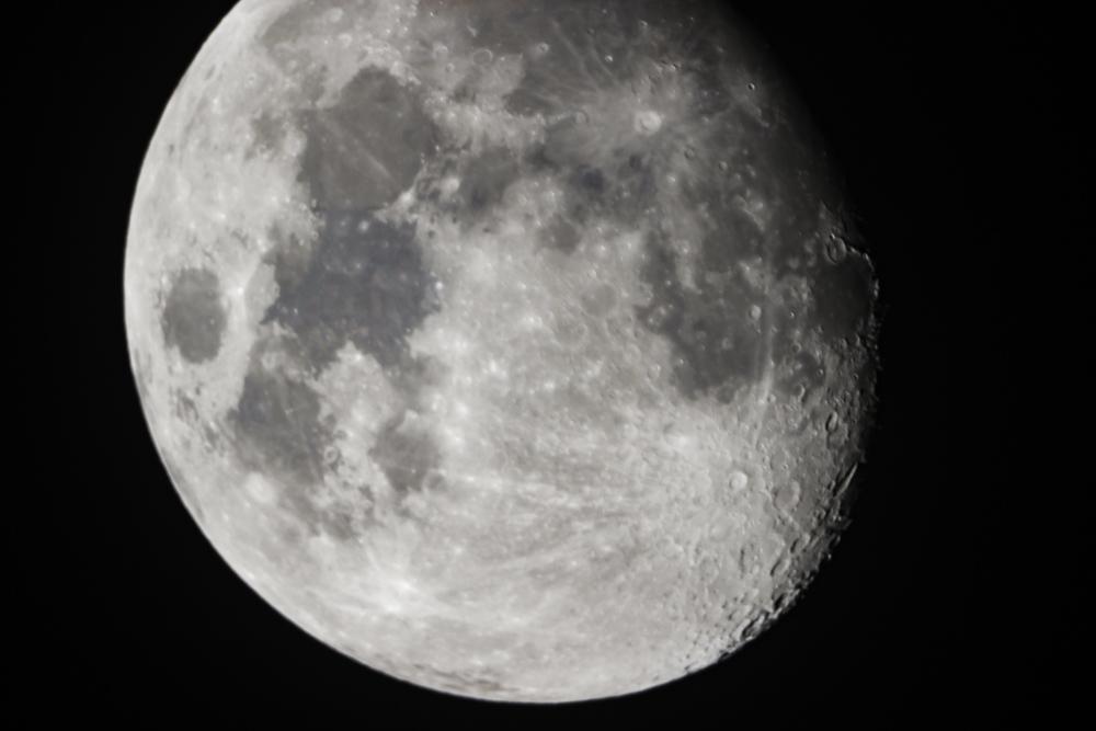 Mondfoto groß