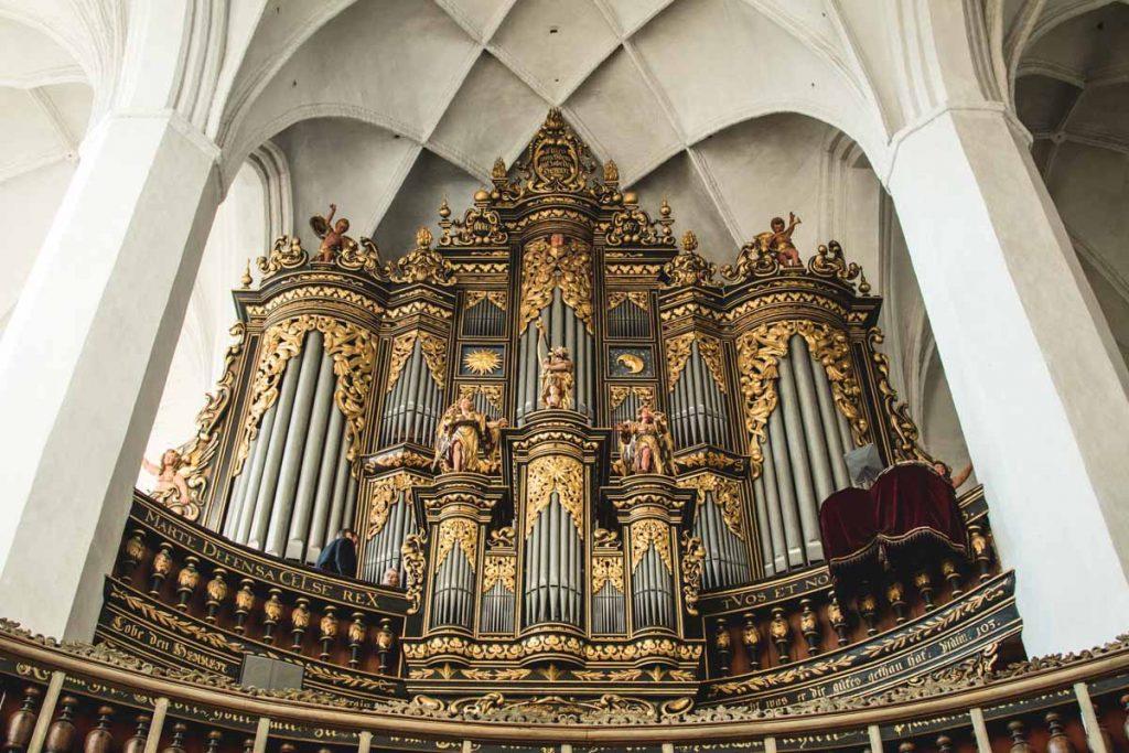 Orgel der Nikolaikirche in Luckau