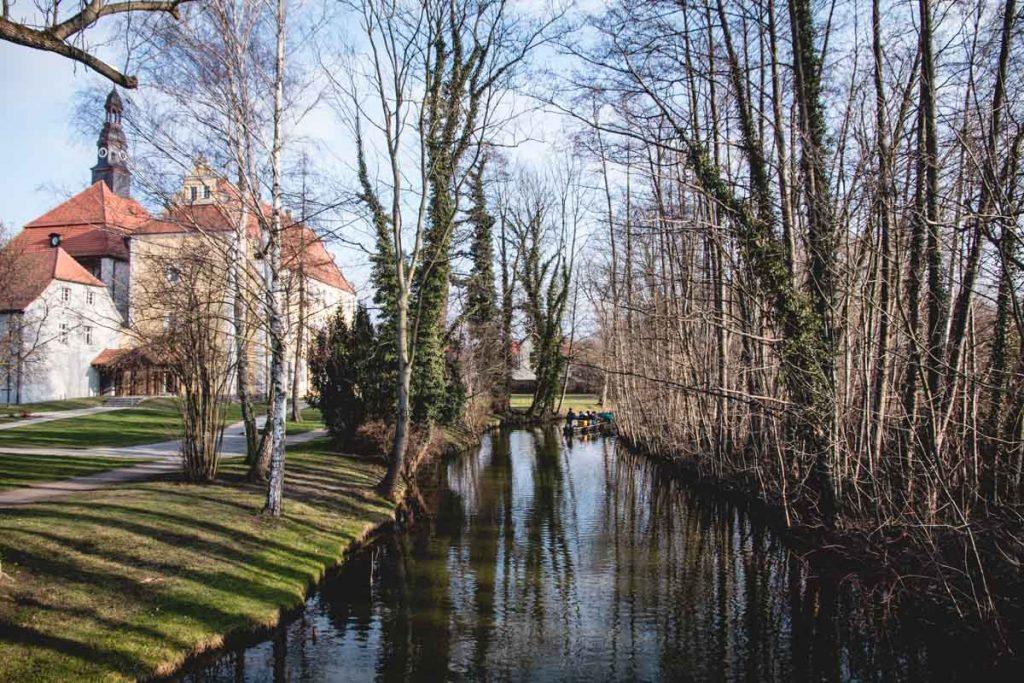 Schloss und Schlossinsel in Lübben