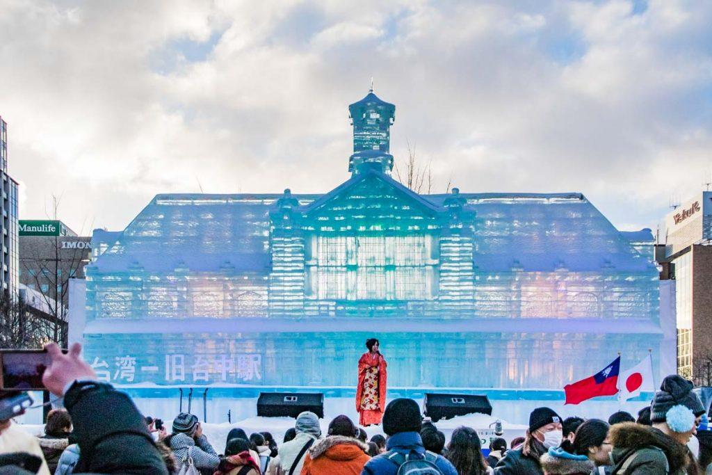 Eispalast Sapporo Snow Festival