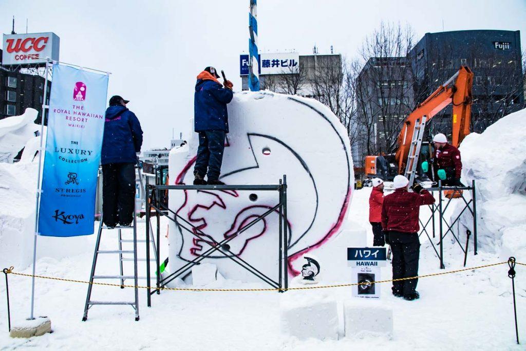 Skulpturenwettbewerb Sapporo