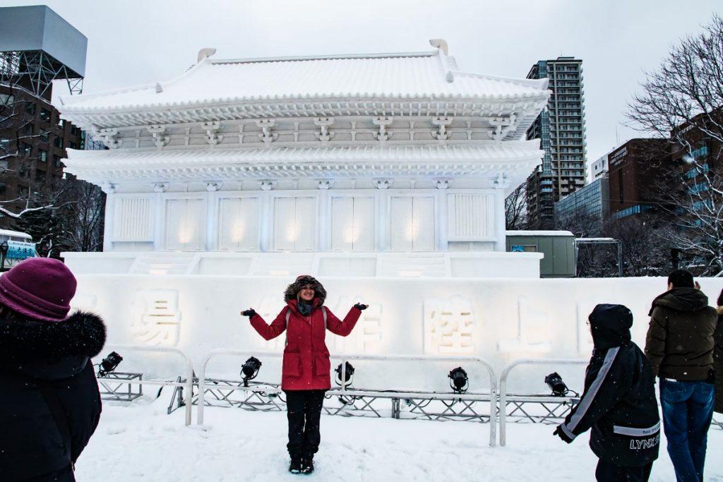 Schneepalast Sapporo Snow Festival