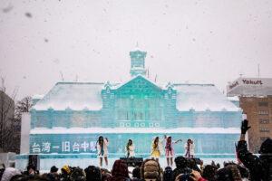 Eispaläste in Japan: Winterzauber beim Sapporo Snow Festival
