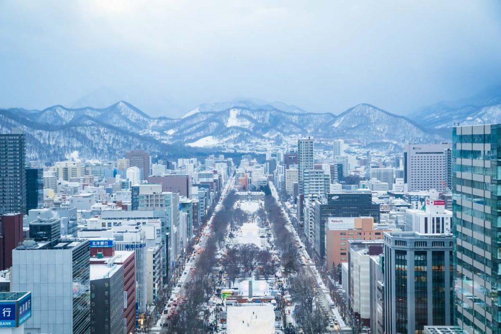 Ausblick Sapporo TV Tower