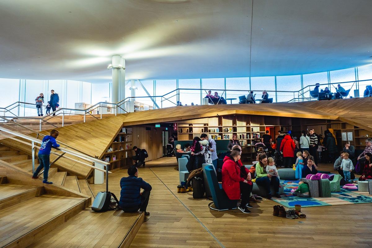 Treffpunkt Bibliothek in Helsinki