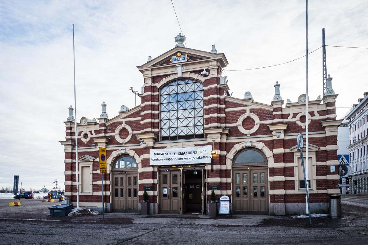 alte Markthalle in Helsinki