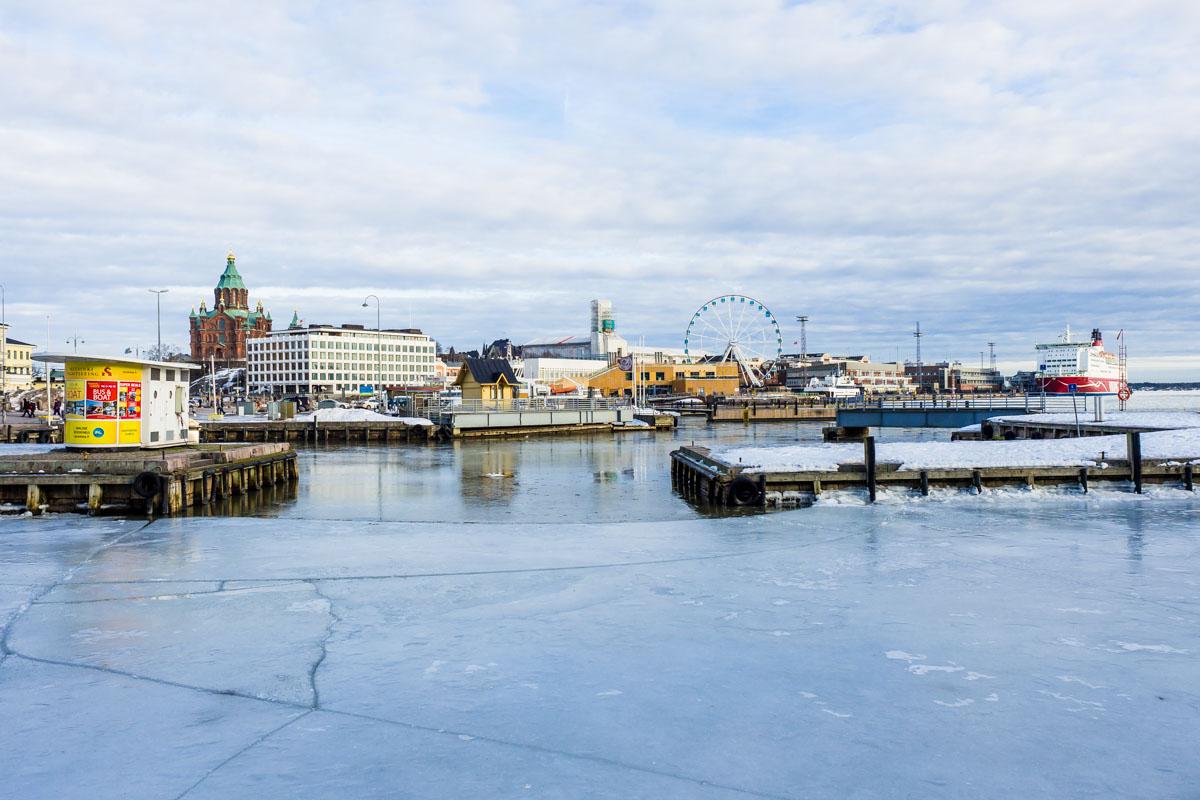 Hafenviertel Helsinki