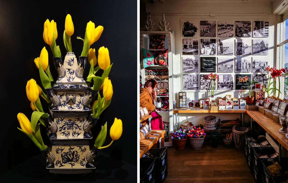 Tulpenmuseum in Amsterdam