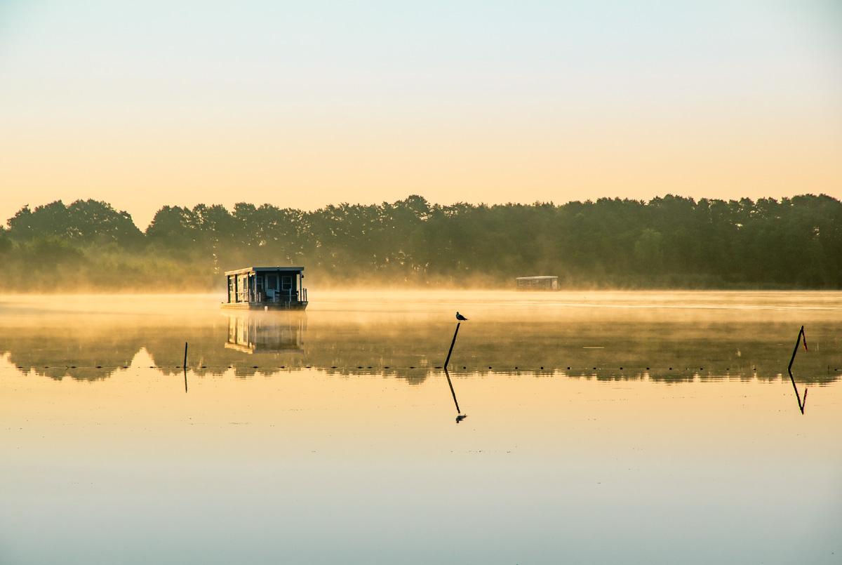 Hausbootfahren in Brandenburg