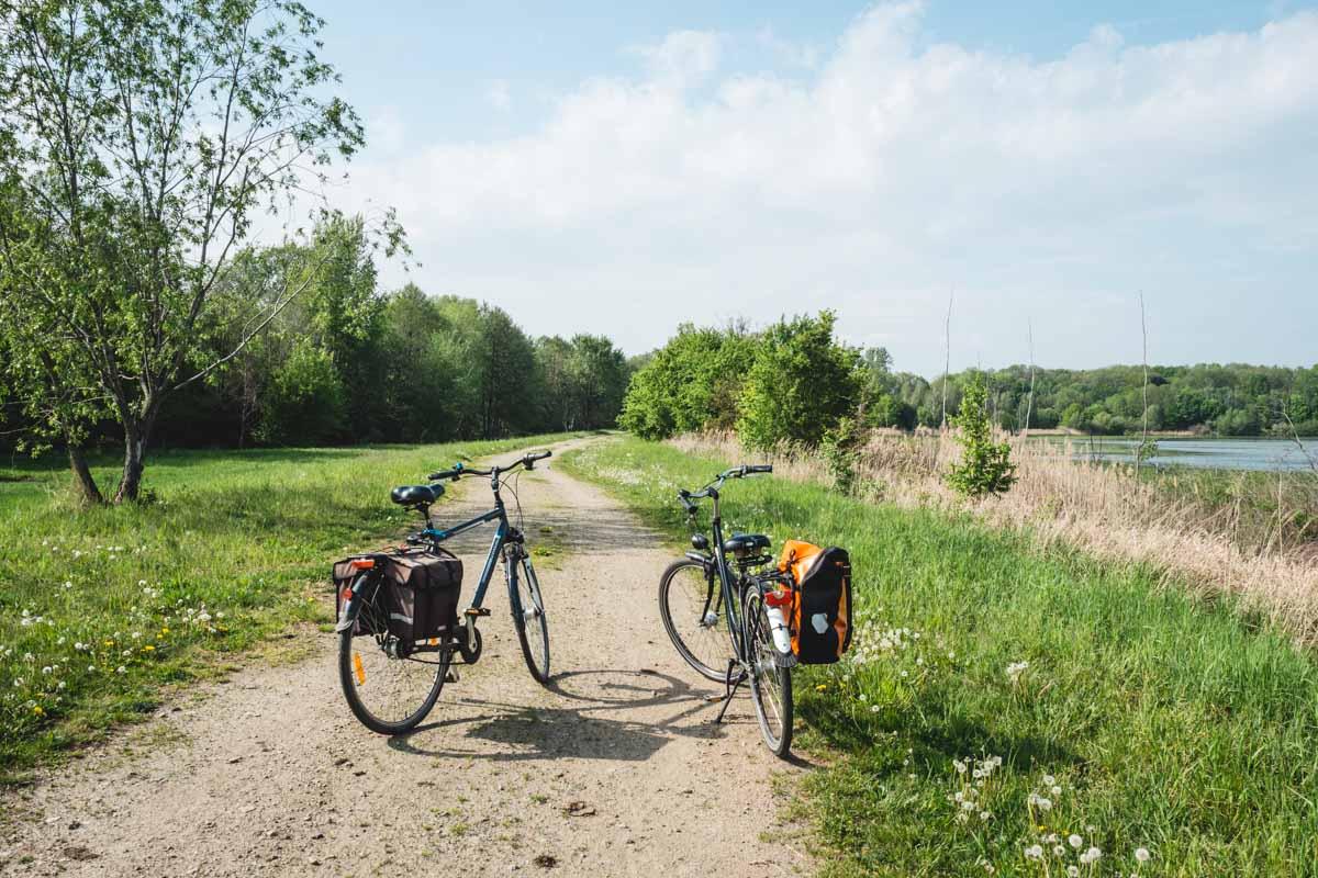 Radtour im Grünen