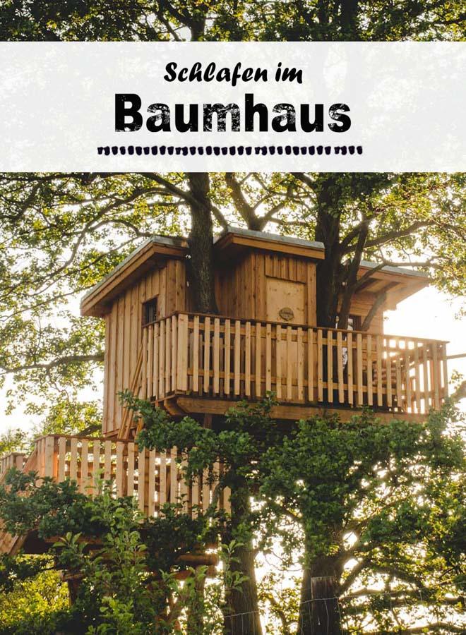 Baumhaus-Übernachtung ni Brandenburg