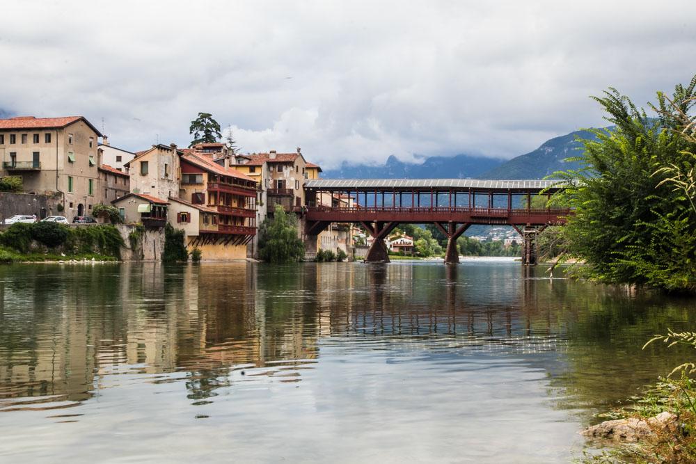 Brücke von Bassano, Venetien