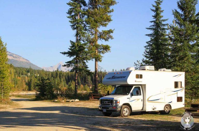 Camping in Kanada: Einsteigertipps