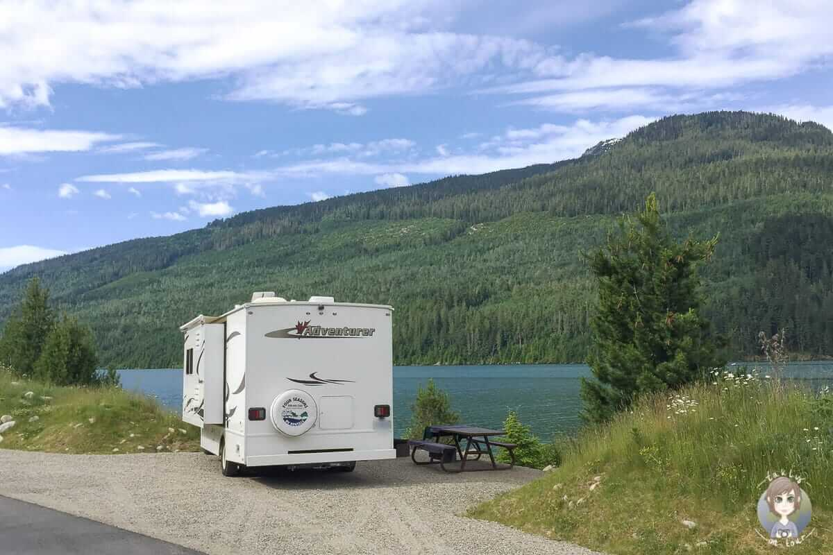 Camping am See, Kanada