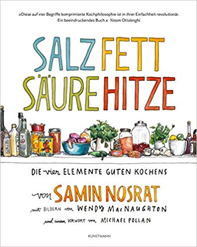 Kochbuch Salz Fett Säure Hitze