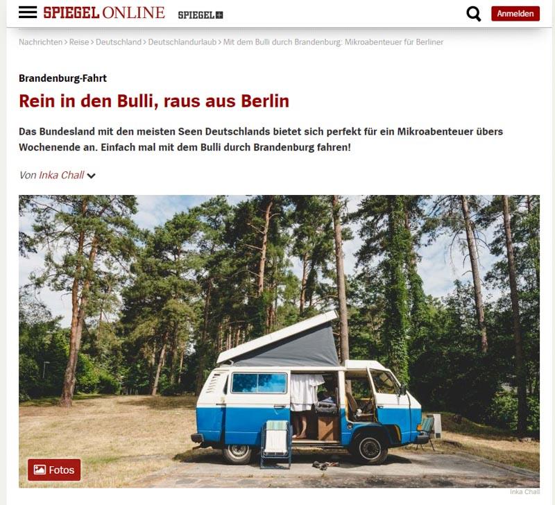 SpiegelOnline Artikel Brandenbulli