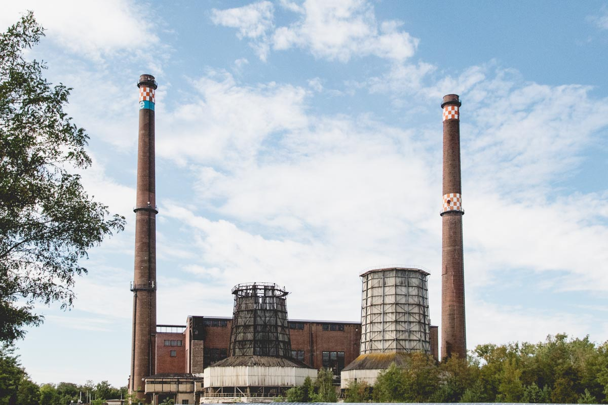 ehemaliges Braunkohlekraftwerk Plessa