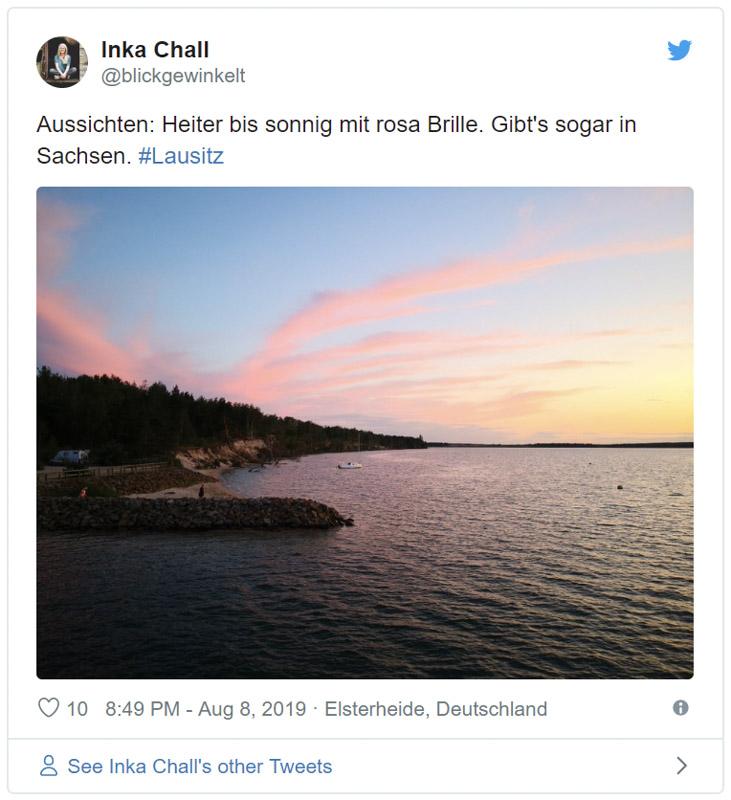 Lausitz auf Twitter