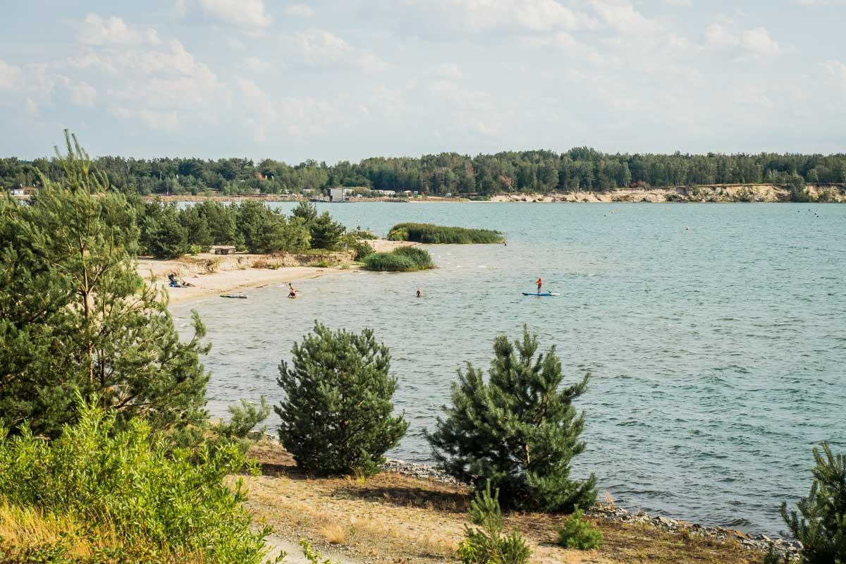 Partwitzer See in Brandenburg