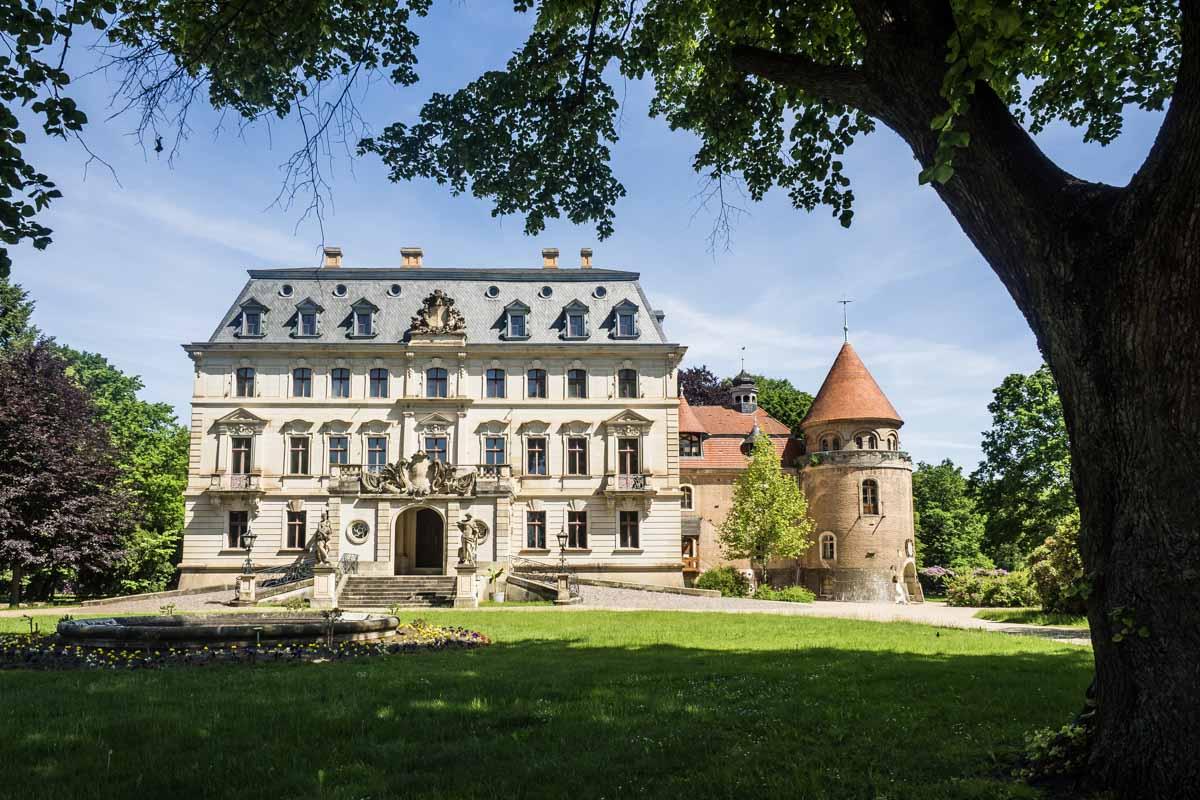 Das Renaissance-Schloss Altdöbern.