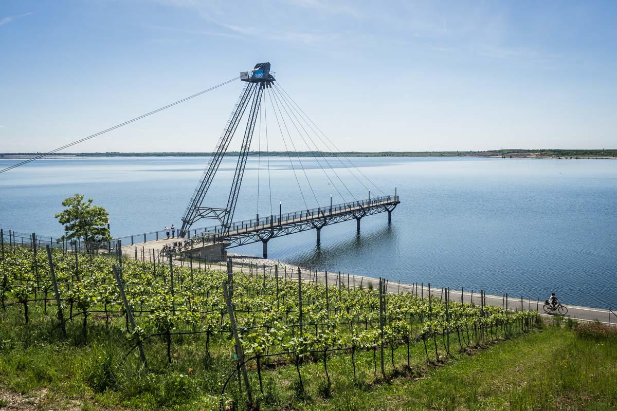 Seebrücke Großräschener See