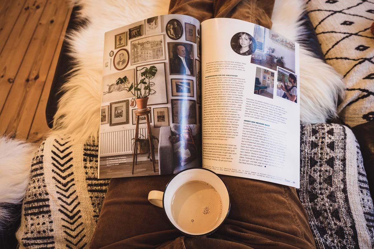 Lesen mit Kaffee - Couching