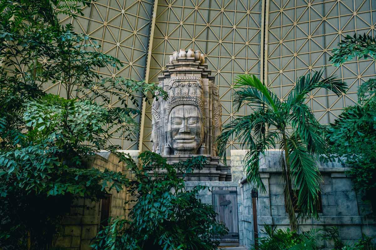 Bali-Tempel im Tropical Islands