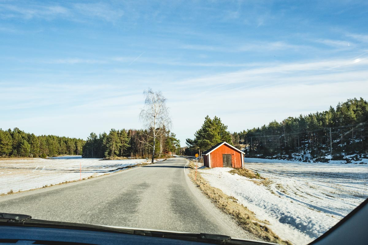 Roadtrip durch Südfinnland im Winter