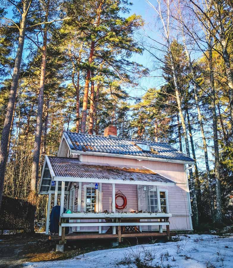 Holzhaus Finnland