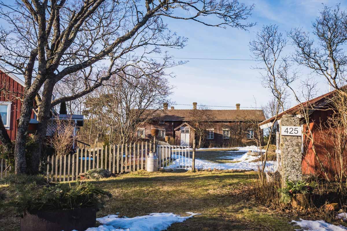Bauernhof Finnland