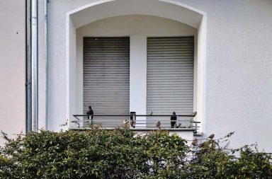 Geschlossener Fensterladen