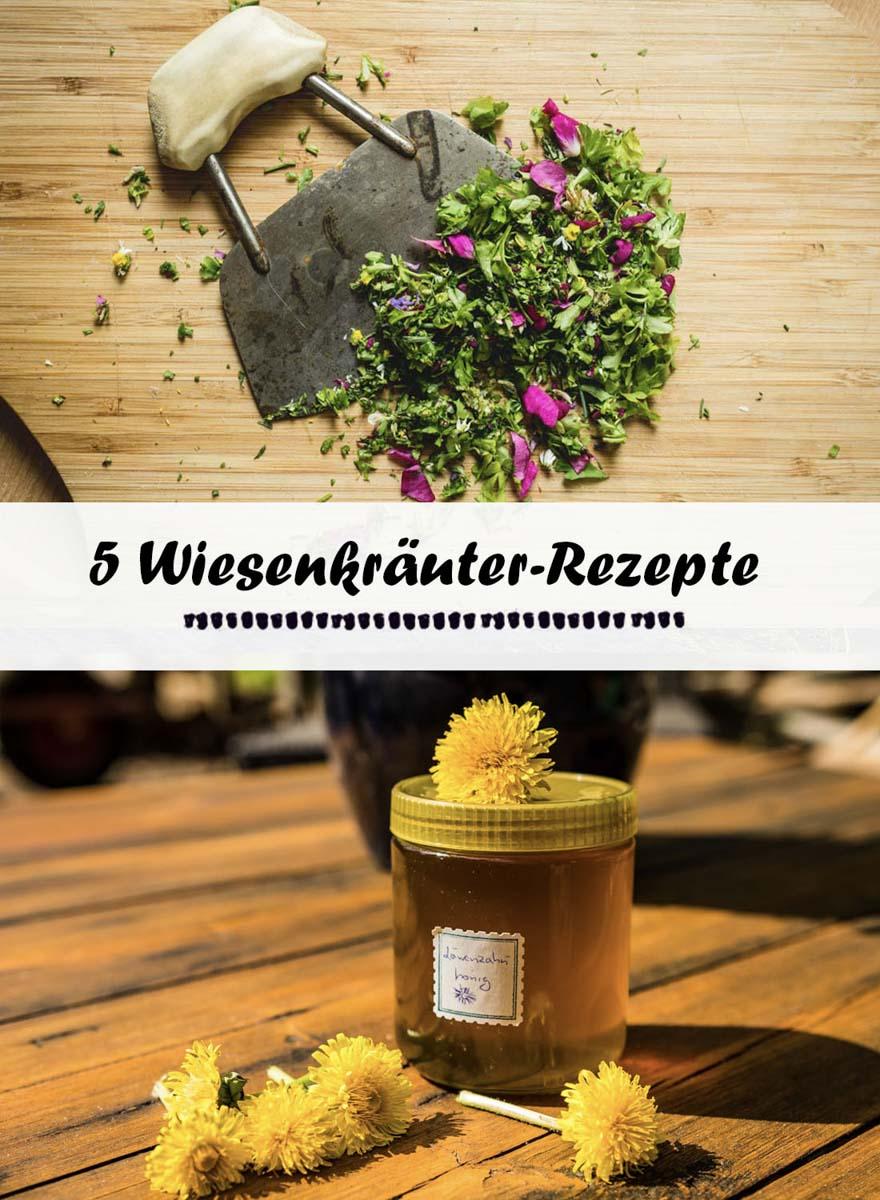 5-Wiesenkräuter-Rezepte