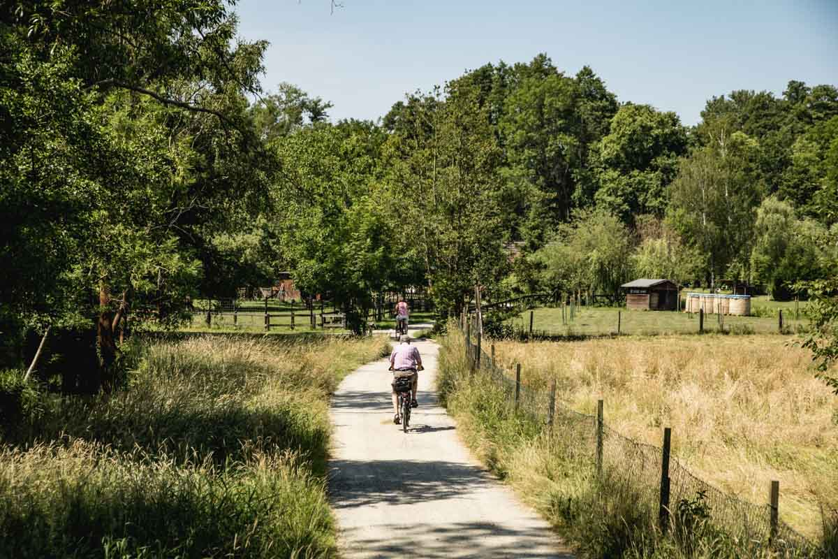 Fahrradwege im Spreewald