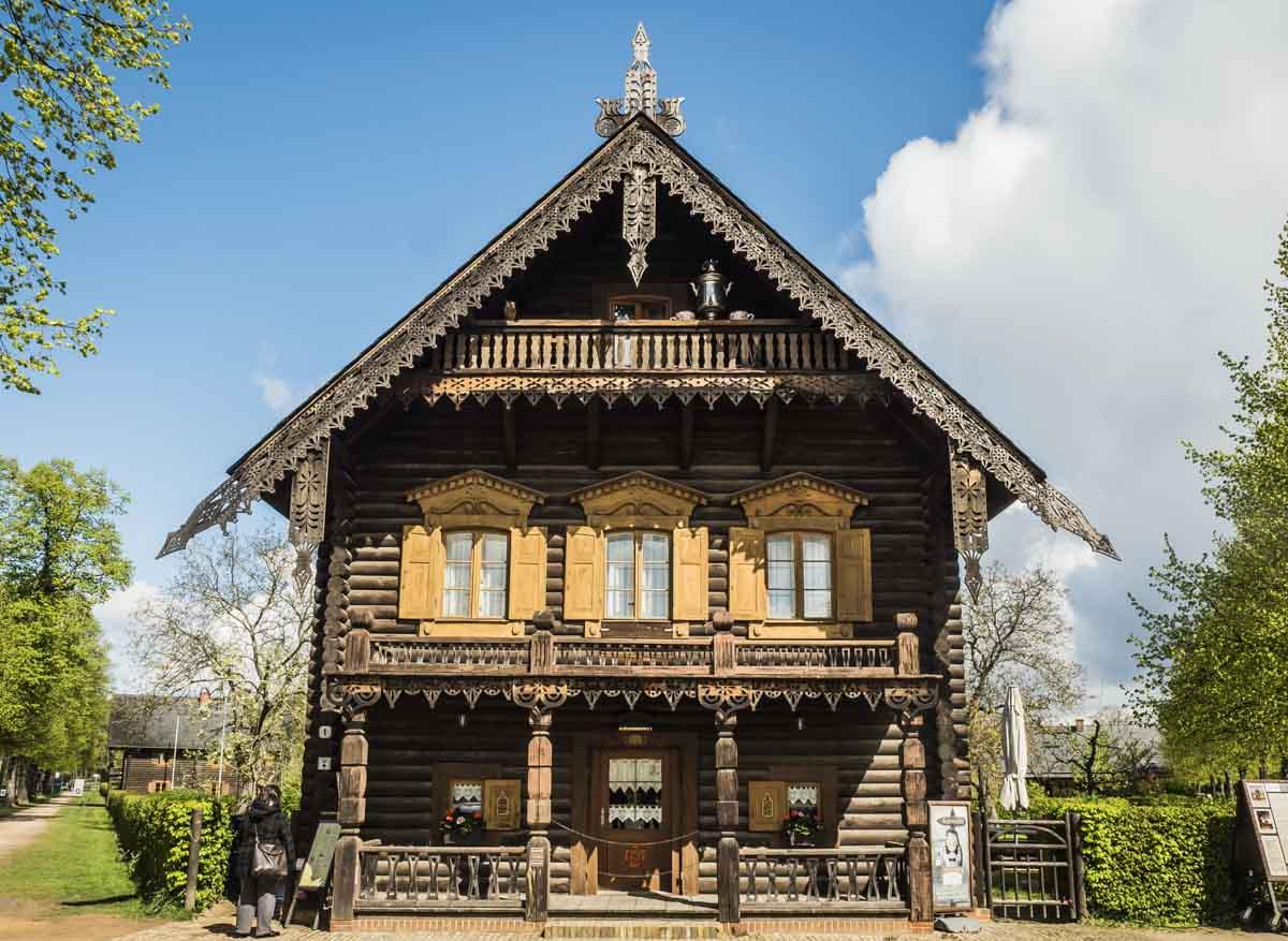 Holzhäuser der Russischen Kolonie Potsdam
