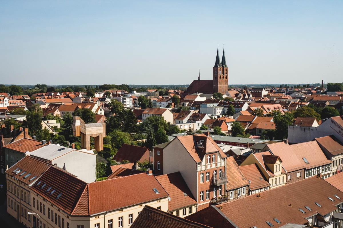 Aussicht Uenglinger Tor Stendal