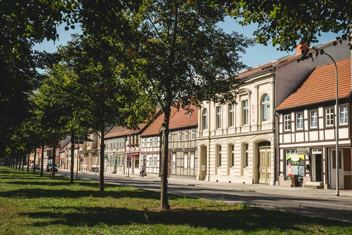 Fachwerkhäuser in Stendal
