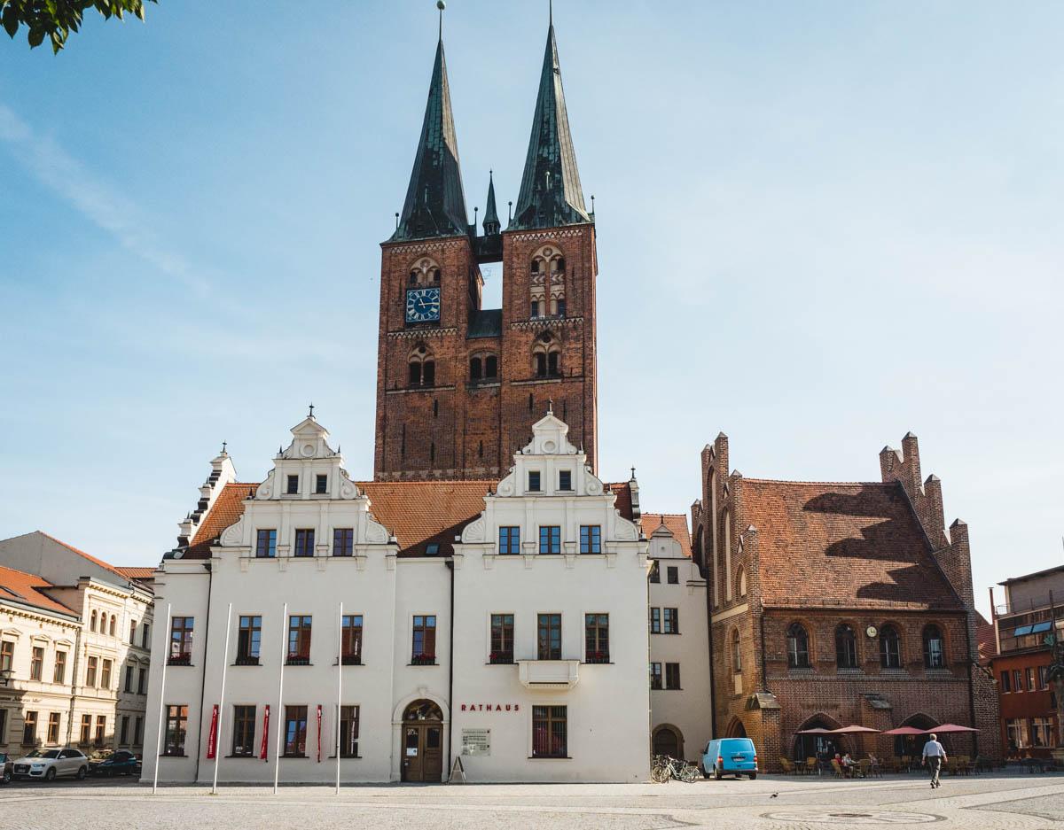 Rathausplatz in Stendal