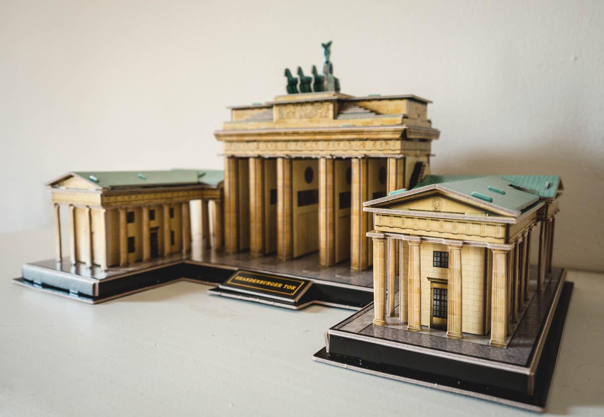 3d-Puzzle Brandenburger Tor