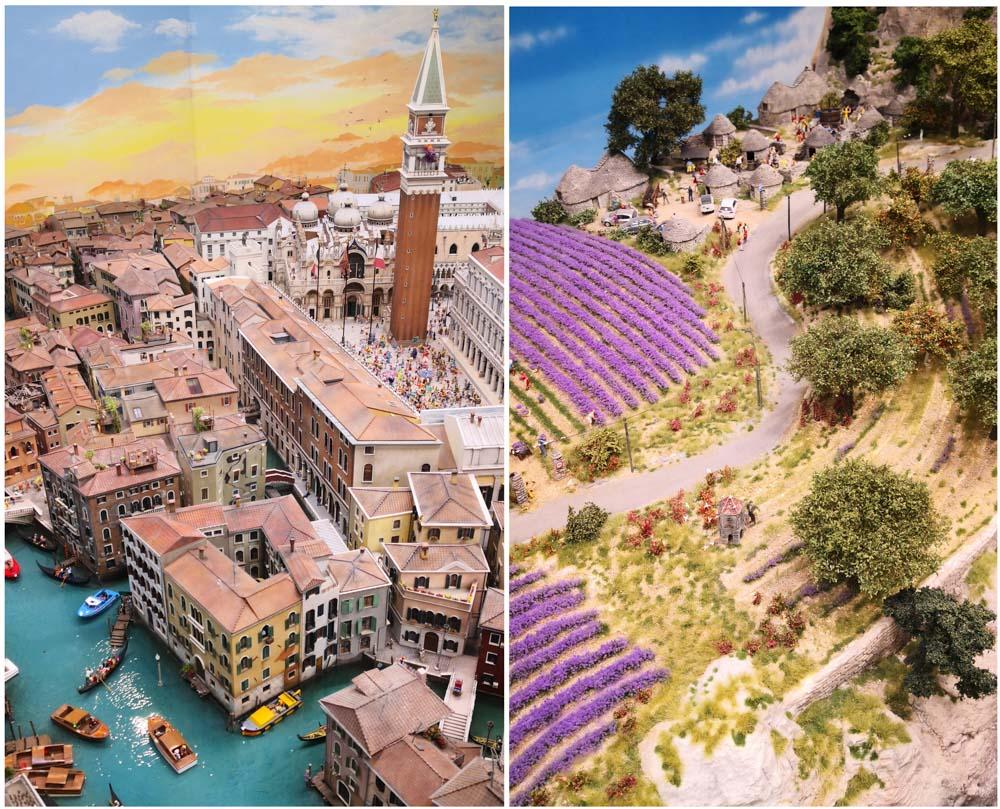 Miniaturwunderland Venedig und Provence
